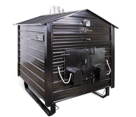 backyard steel furnace woodmaster 6500 outdoor wood furnace