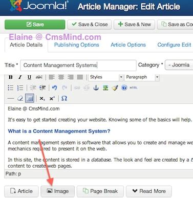 tutorial for joomla 3 3 joomla 3 0 tutorial how to wrap text around images in
