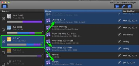 final cut pro library manager final cut pro x 10 1 library manager rundown