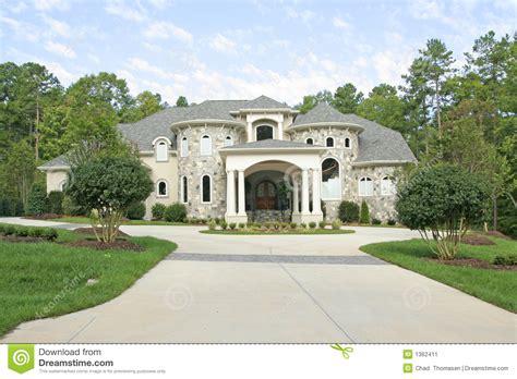white stone house large stone house stock image image of live residence