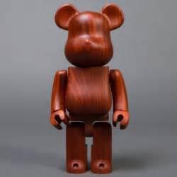 400 Brown Bea Rbrick medicom x karimoku padauk 400 wooden bearbrick figure brown