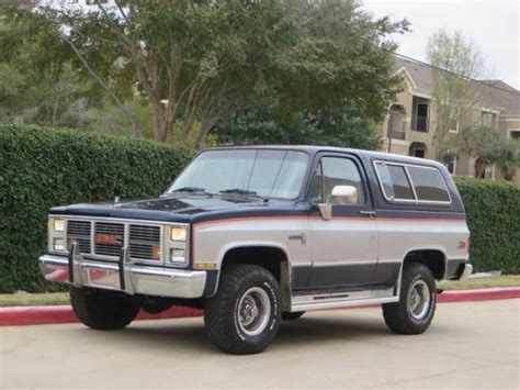 gmc jimmy 1986 gmc jimmy 2dr 4wd suv 2 door 6 2l diesel 4x4