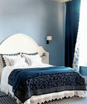 blue and cream bedroom decorating ideas shades of blue 30 modern bedroom ideas real simple