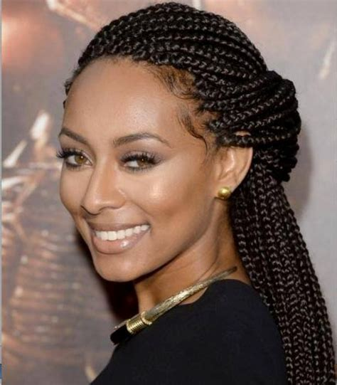 braided hair styles for a rounded face type african braid hairstyles for round face hairstyles