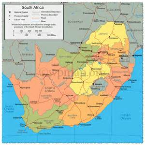 South Africa South Africa Map