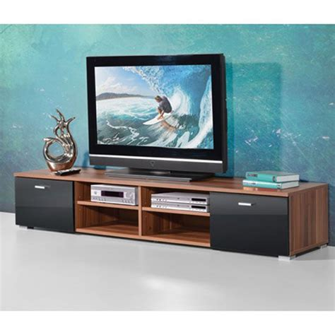 contemporary tv cabinets for flat screens contemporary tv stand for flat screen in walnut with gloss