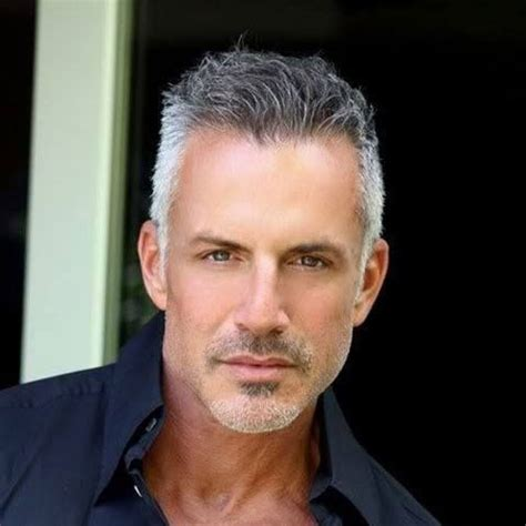 50 year old male grey curly hair best hairstyles for older men men s haircuts