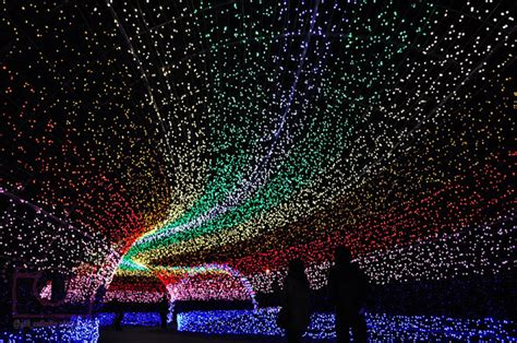 amazing lightd amazing world fun tunnel of lights in japan amazing