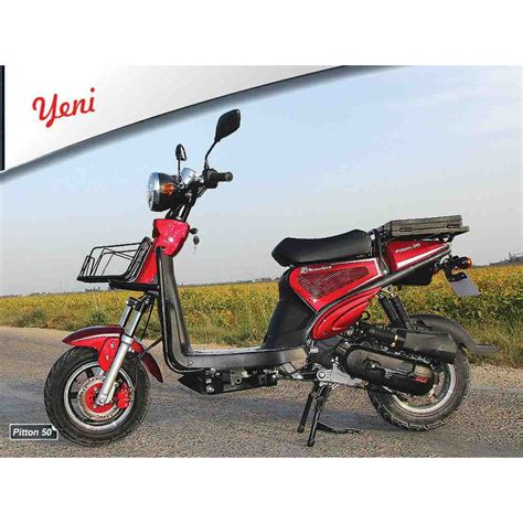 motoluex piton  cc scooter benzinli motosiklet scooter