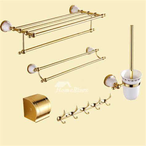 polished brass bathroom accessories good polished brass luxury bathroom accessories set ceramic