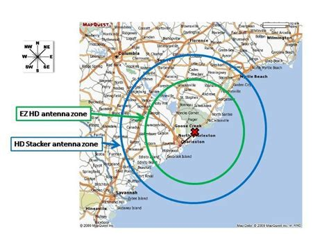 hd antenna map best tv antenna for charleston sc tv stations