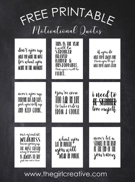 printable workout quotes free printable motivational weight loss quotes weight