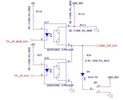 optocoupler transistor driver opto isolator can i create a totem pole structure by