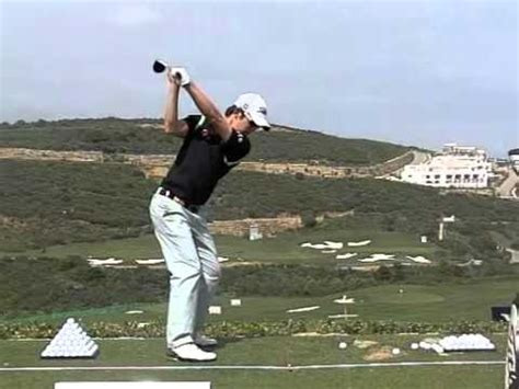 seung yul noh swing seung yul noh golf swing 3w slow motion down the line