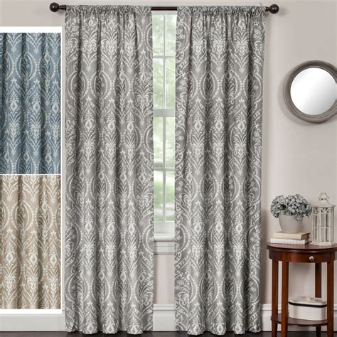 Wide Curtains Jorie Medallion Energy Efficient Wide Curtains