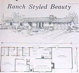 1960s ranch house plans design collection house plans 500 outstanding designs 1971 29 99 populuxebooks retro