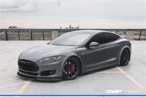 Tesla With Rims Tesla Model S Adv10r Track Spec Cs Concave Forged Wheels