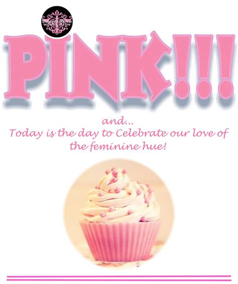 Happy Day Pink designs by rhonda happy national pink day