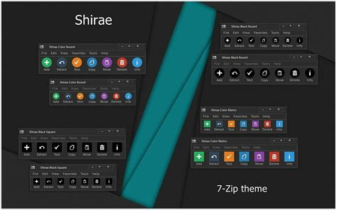 themes for windows 7 zip shirae 7 zip theme by alexgal23