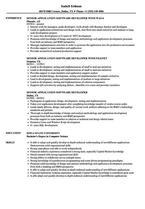 sle senior software engineer resume resume central