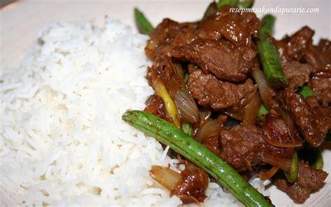 cara membuat nasi bakar daging sapi resep cara membuat daging sapi bumbu serai resep masakan