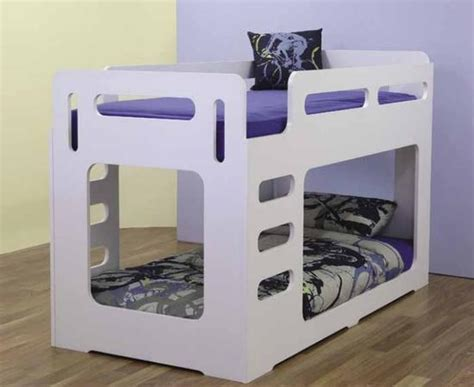 Bunk Bed Au Samson Single Bunk Bed White Bambino Home