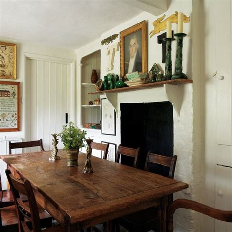 Comfortable Dining Room by Dining Room Comfortable Country Retreat House Tour Housetohome Co Uk
