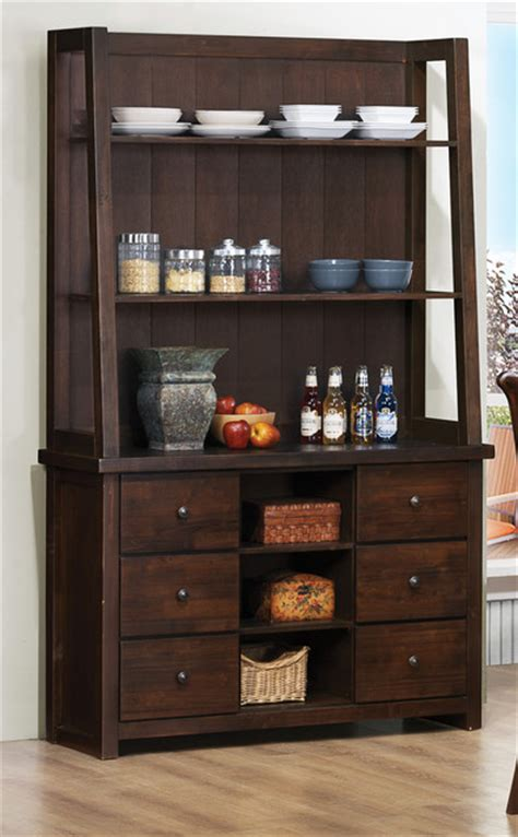 modern buffet and hutch julius rustic walnut buffet with hutch modern buffets and sideboards by sykes