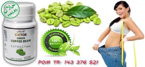exitox green coffee bean asli jakarta