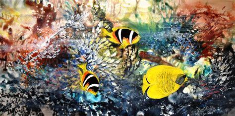 aquarelle acrylbilder regenbogen art kunst und mehr