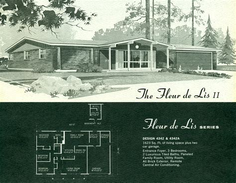1950s modern home design modern house plans 1950 1960s modern house plans 1960s
