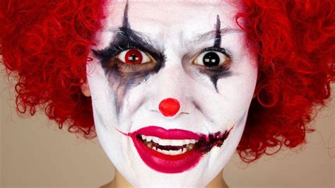 zombie clown tutorial 17 best ideas about scary clown makeup on pinterest
