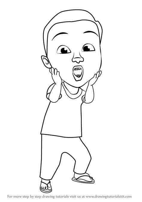 colouring page upin ipin colouring picture upin ipin printable coloring pages