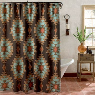 southwest design shower curtains buy southwestern shower curtains from bed bath beyond