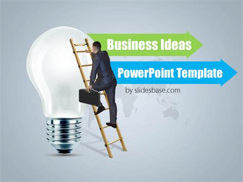 business idea template for business ideas powerpoint template slidesbase