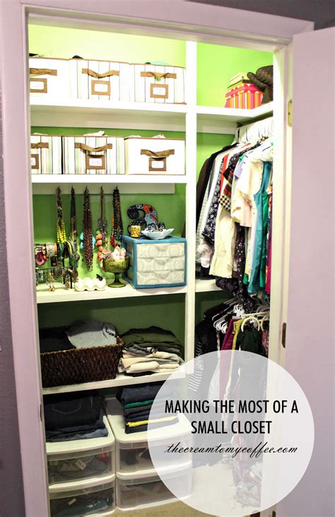making the most of small spaces bedroom making the most of a small closet the cream to my coffee