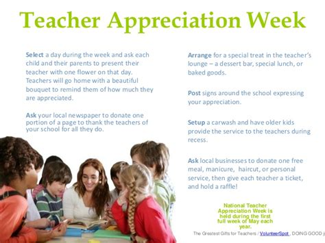 appreciation week letter to parents greatest gifts for teachers appreciation week