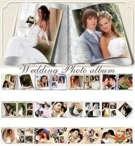 free template album wedding psd download