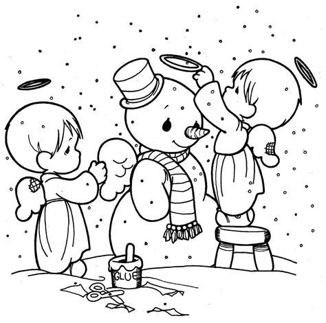 imagenes de navidad para colorear animadas dibujos de navidad faciles para colorear en familia