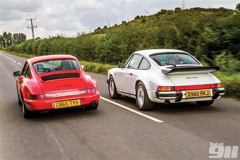 porsche 964 vs 993 porsche 911 3 2 vs porsche 964 2 total 911