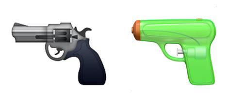emoji film pistole brasilien apple to replace pistol emoji with green water gun emoji