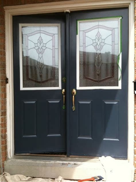 Hale Doors hale navy front doors in the shade curb appeal hale navy the o jays and navy