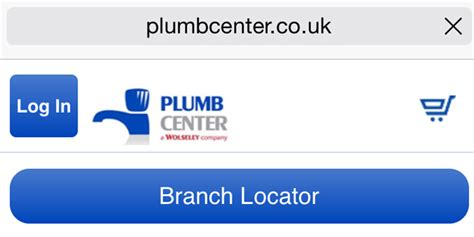 plumb and parts center websites now optimised for mobile