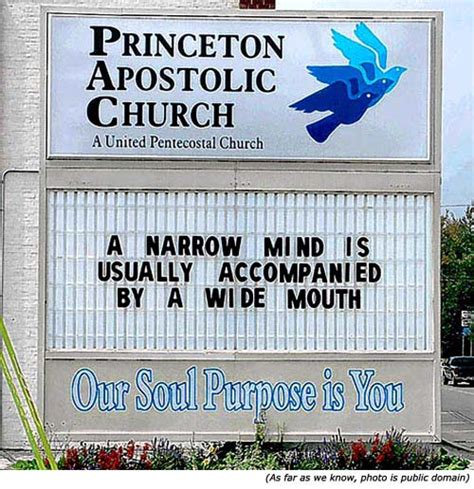 funny church sign sayings