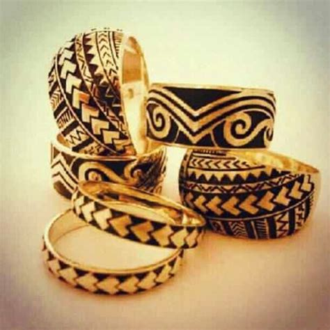 tribal tattoos gold designed wedding rings might to get one of