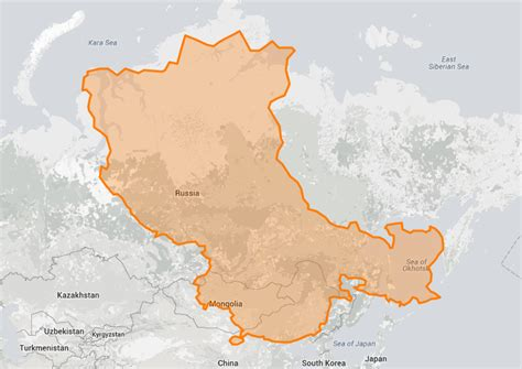 eye opening true size map shows  real size