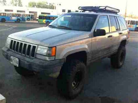 1998 Jeep Grand Laredo Lifted Find Used 1998 Grand Zj Lifted No Reserve In