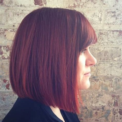 hairstyles blunt stacked 40 spectacular blunt bob hairstyles bobs thick hair and