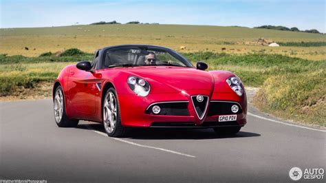 Alfa Romeo 8c Spider 3 February 2017 Autogespot