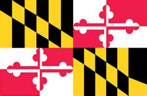 maryland colors let it fly maryland s state flag historic symbols of unity